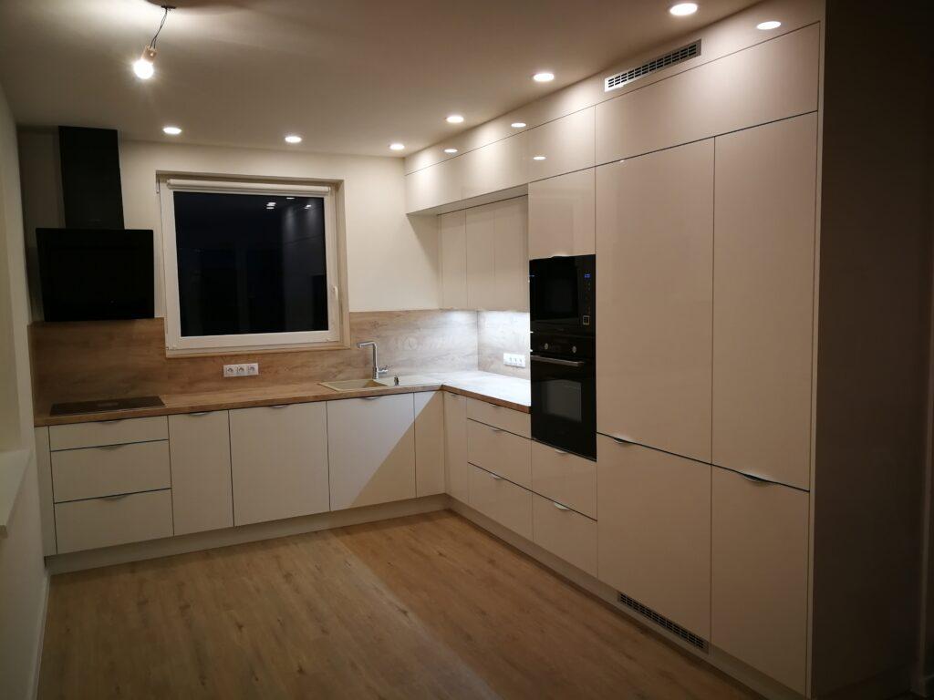 Inspirace renovace kuchyně - Vyškov